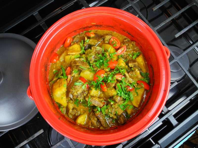 The Simplest Oven Curry Goat Recipe. | CaribbeanPot.com